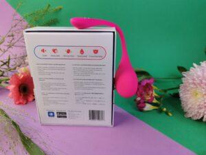 L'arrière de l'emballage du Lovense Lush 3
